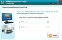 Windows Password Reset Professional