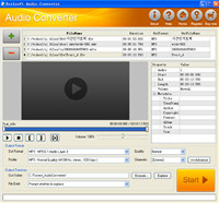 Boilsoft Audio Converter screenshot medium