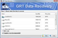GRT NTFS Recover screenshot medium