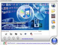ZC DVD to Zune Converter
