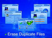 Erase Duplicate Files