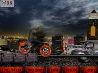 Devilish Motorbike