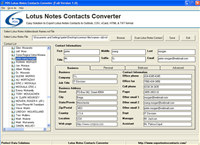 Export Notes Contacts to TXT