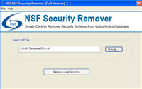 Lotus Notes Database Security Remover