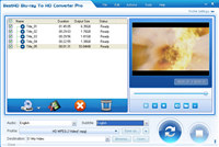 Blue-ray To HD Video Convert