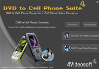 4Videosoft DVD to Cell Phone Suite