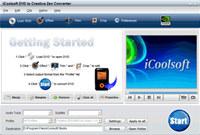 iCoolsoft DVD to Creative Zen Converter