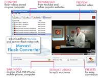 Movavi Flash Converter screenshot medium