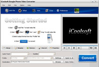iCoolsoft Google Phone Video Converter