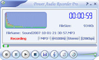 Power Audio Recorder Pro screenshot medium