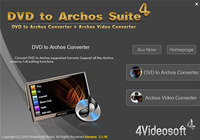 4Videosoft DVD to Archos Suite