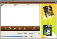 4Videosoft Free PDF to JPEG Converter screenshot medium
