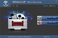 4Videosoft DVD to iPhone Suite