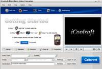 iCoolsoft BlackBerry Video Converter
