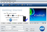iCoolsoft DVD to BlackBerry Converter
