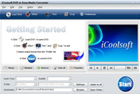 iCoolsoft DVD to Sony Media Converter