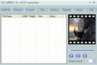 EZ MPEG To AVI Converter