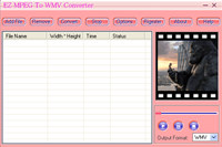 Ez MPEG To WMV Converter