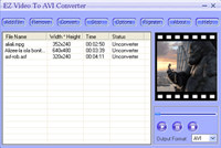 EZ Video To AVI Converter screenshot medium