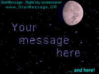 StarMessage - Moon Phases screensaver