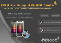 4Videosoft DVD to Sony Xperia Suite