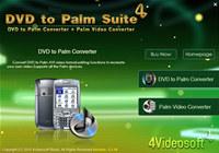 4Videosoft DVD to Palm Suite screenshot medium