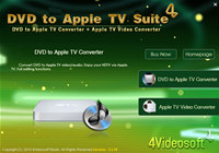 4Videosoft DVD to Apple TV Suite