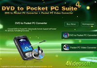 4Videosoft DVD to Pocket PC Suite