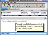 Starfish Family Mail screenshot medium