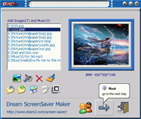 123 Dream Screensaver Maker
