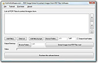 PDF Image Extract to extract images from PDF files