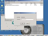 Transparent Screen Lock for WinNT/2000/XP/2003