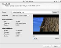 AVS DVD to iPod
