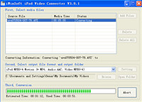 iWinSoft iPod Video Converter screenshot medium