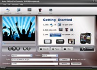 Acker DVD to iPod Converter
