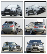 BMW X5 Hamann Screensaver