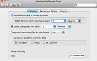 AppleMacSoft Empty Trash for Mac