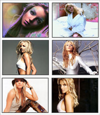 Britney Spears Gorgeous Screensaver