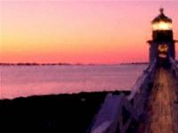 Lighthouse Art DesktopFun Screensav...