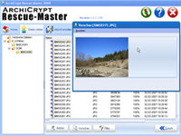 ArchiCrypt Rescue-Master 4 screenshot medium