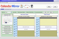 CalendarMirror for Outlook and Palm Desktop