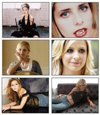 Buffy 1 Sarah Michelle Gellar Screensaver
