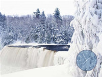 Winter Waterfall ScreenSaver