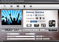 Acker DVD to PSP Converter screenshot medium