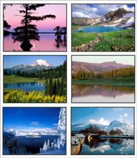 Lakes Screensaver 1
