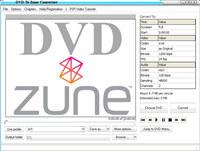 DVD Zune Convert