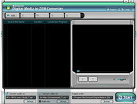 Digital Media to Zen Converter