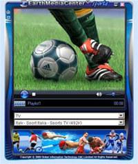EarthMediaCenter online sports TV