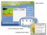 Flash Screensaver Creator