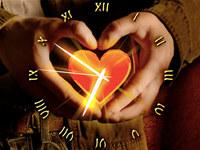 Love Heart Clock ScreenSaver